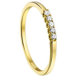 Ring diamant 0.10 ct