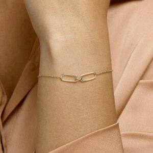 Armband ankerschakel verstelbaar