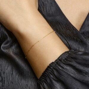 Armband bolletjes 16 cm