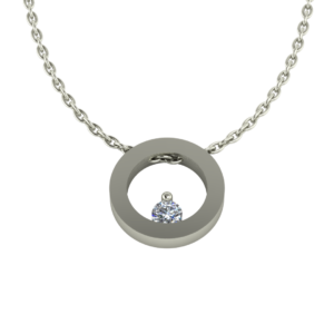 Collier Circle 0.04 ct