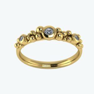 Ring Dots & Diamonds