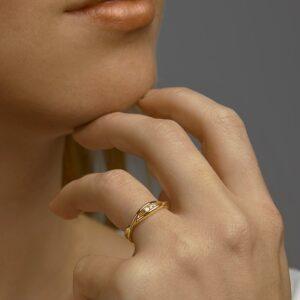 Ring diamant 0.06ct