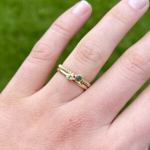 Birthstone Ring Closed