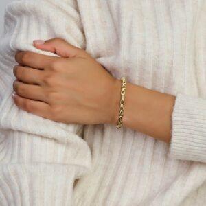 Armband anker 4,8 mm 19 cm