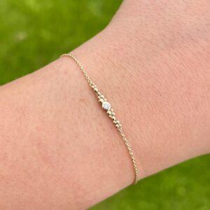 Dots & Diamonds armband